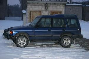 Land Rover Discovery - jeszcze przed modernizacją.