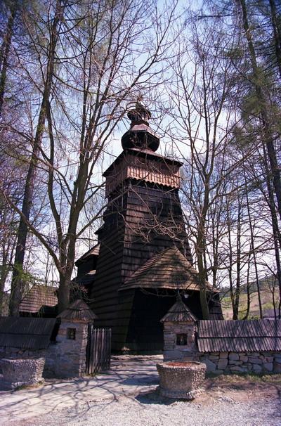 Cerkiew w Powroźniku p.w. św. Jakuba Młodszego z 1604 r. Obecnie służy jako kościół rzymsko - katolicki.