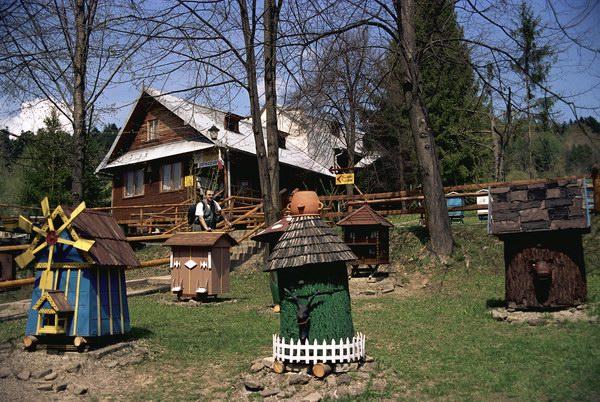 Kamianna. Muzeum pszczelarstwa.