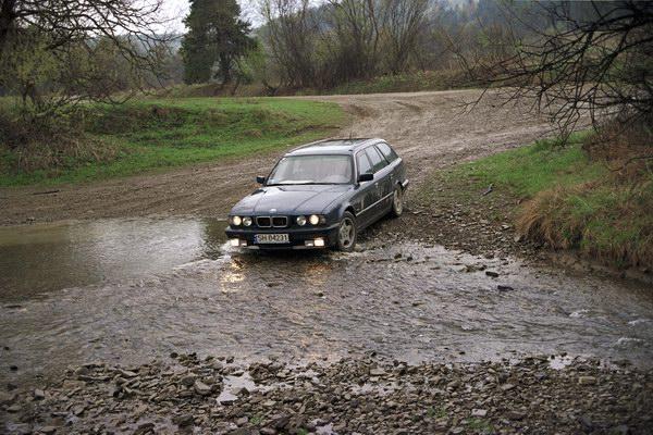 BMW w akcji. Łemkowszczyzna.