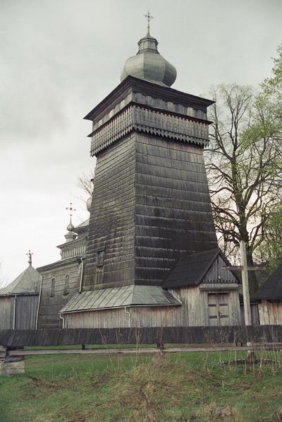 Świątkowa Wielka. Cerkiew grecko katolicka p.w. św. Michała Archanioła z 1757 r. Łemkowszczyzna. Obecnie kościół rzymsko katolicki.