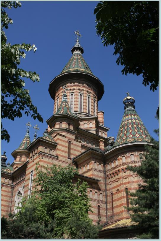Timiszoara - katedra prawosławna.