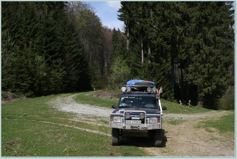 Przełęcz Ruschita.