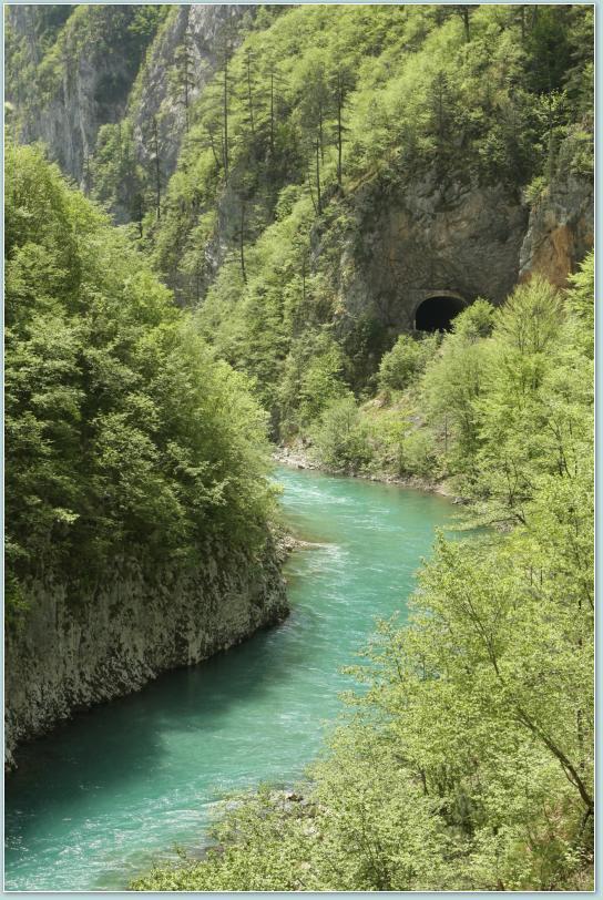 Kanion rzeki Tara.