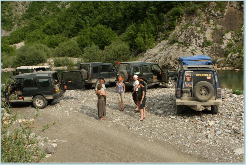 Spotkanie Land Rover'ów i landrowerowców ...